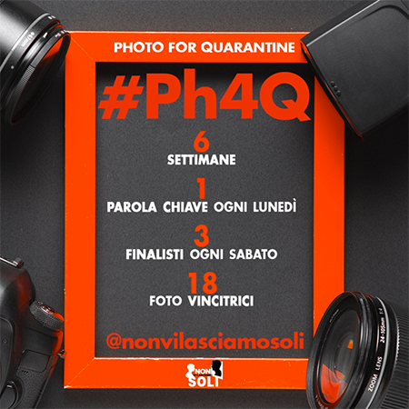 "Progetto ""Ph4Q – Photo For Quarantine"""